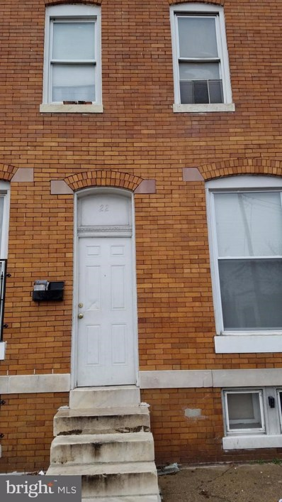 22 S Catherine Street, Baltimore, MD 21223 - MLS#: MDBA437074