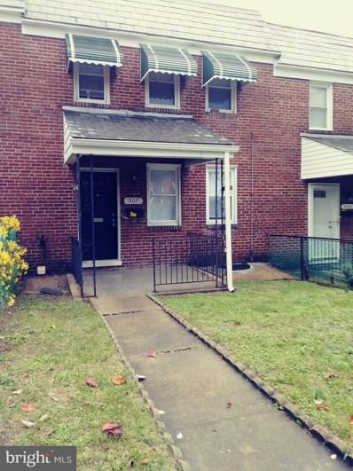 907 Mount Holly Street, Baltimore, MD 21229 - #: MDBA437140
