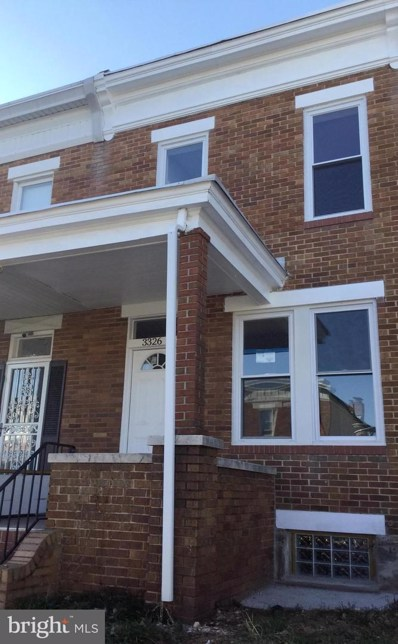 3326 Cardenas Avenue, Baltimore, MD 21213 - #: MDBA437676