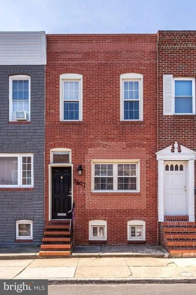 3507 Claremont Street, Baltimore, MD 21224 - #: MDBA437696