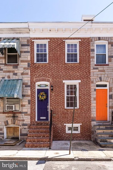 613 Wyeth Street, Baltimore, MD 21230 - #: MDBA437724