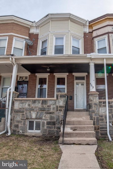 403 S Augusta Avenue, Baltimore, MD 21229 - #: MDBA437802