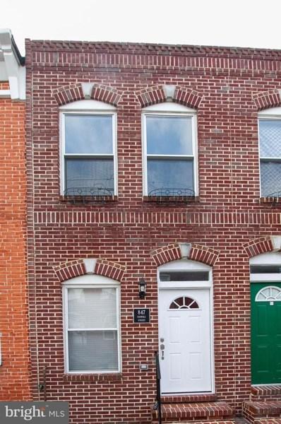 847 Carroll Street, Baltimore, MD 21230 - #: MDBA438032