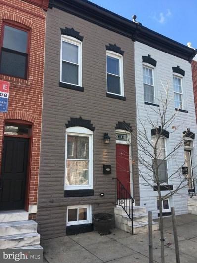 114 N Potomac Street, Baltimore, MD 21224 - #: MDBA438076