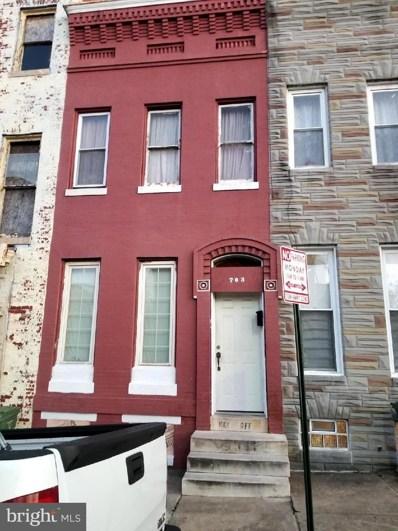 703 W Lanvale Street, Baltimore, MD 21217 - #: MDBA438126
