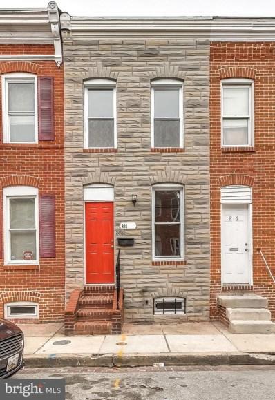 808 Mangold Street, Baltimore, MD 21230 - #: MDBA438128