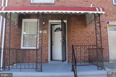 3205 Lake Avenue, Baltimore, MD 21213 - #: MDBA438208