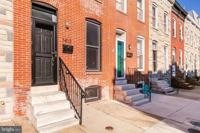 1412 Towson Street, Baltimore, MD 21230 - #: MDBA438220