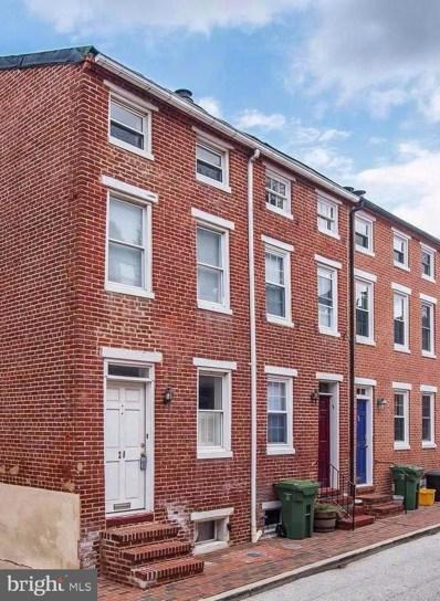 28 E Hamburg Street, Baltimore, MD 21230 - MLS#: MDBA438244
