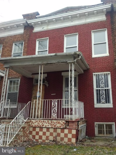2203 Belair Road, Baltimore, MD 21213 - #: MDBA438270
