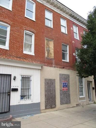 1406 W Pratt Street, Baltimore, MD 21223 - #: MDBA438296