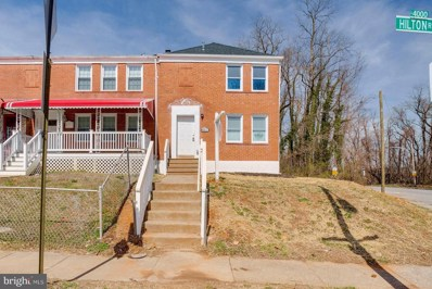 4054 Hilton Road, Baltimore, MD 21215 - #: MDBA438652