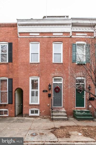 1714 S Charles Street, Baltimore, MD 21230 - #: MDBA438846