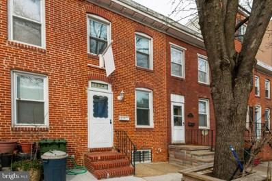 1524 Byrd Street, Baltimore, MD 21230 - #: MDBA438930