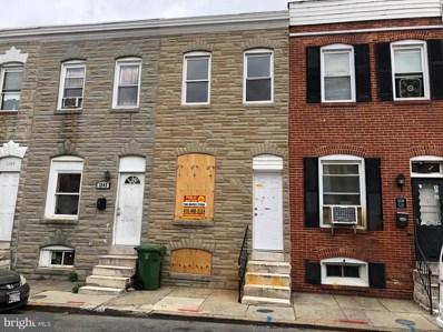1240 Glyndon Avenue, Baltimore, MD 21223 - #: MDBA438942