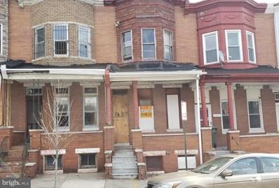 1637 Appleton Street, Baltimore, MD 21217 - #: MDBA439100