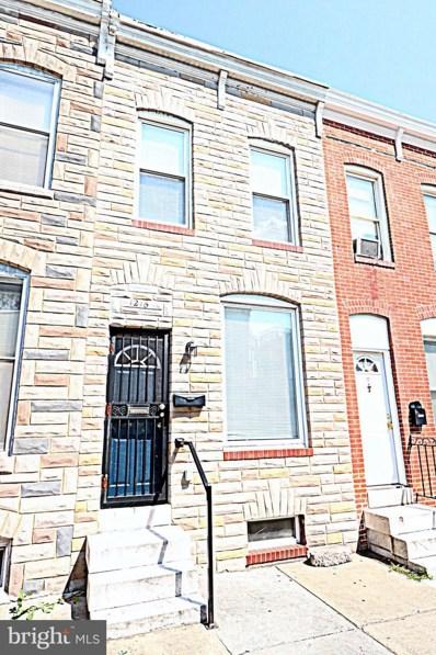 1216 Sargeant Street, Baltimore, MD 21223 - #: MDBA439148