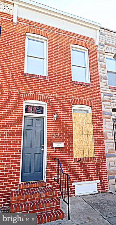 1245 Sargeant Street, Baltimore, MD 21223 - #: MDBA439150