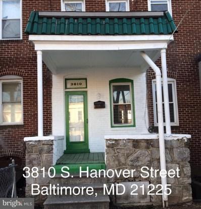 3810 S Hanover Street, Baltimore, MD 21225 - MLS#: MDBA439210