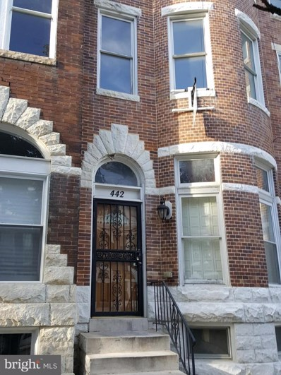 442 E 22ND Street, Baltimore, MD 21218 - #: MDBA439332