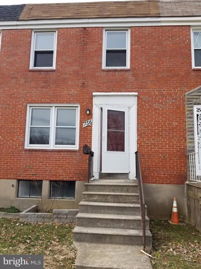 756 S Woodington Road, Baltimore, MD 21229 - #: MDBA439538