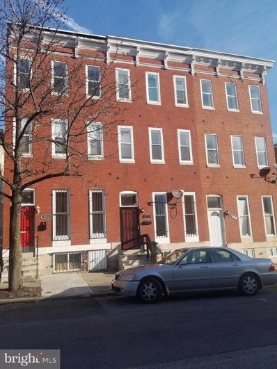 1614 W Lexington Street, Baltimore, MD 21223 - #: MDBA439648