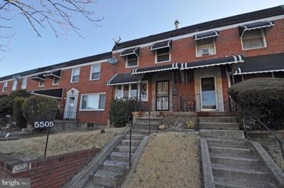 5505 Cedonia Avenue, Baltimore, MD 21206 - #: MDBA439886