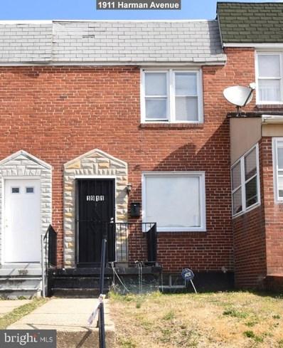 1911 Harman Avenue, Baltimore, MD 21230 - #: MDBA439990