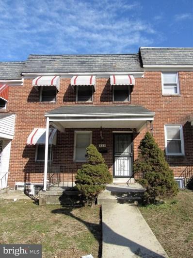 835 Mount Holly Street, Baltimore, MD 21229 - #: MDBA440160