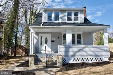 5014 Norwood Avenue, Baltimore, MD 21207 - #: MDBA440176