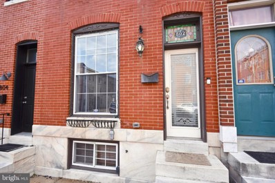 802 S Clinton Street, Baltimore, MD 21224 - #: MDBA440392