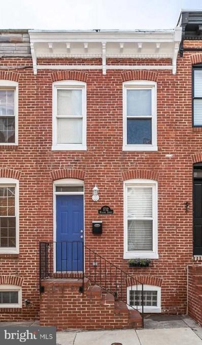 1712 William Street, Baltimore, MD 21230 - #: MDBA440516