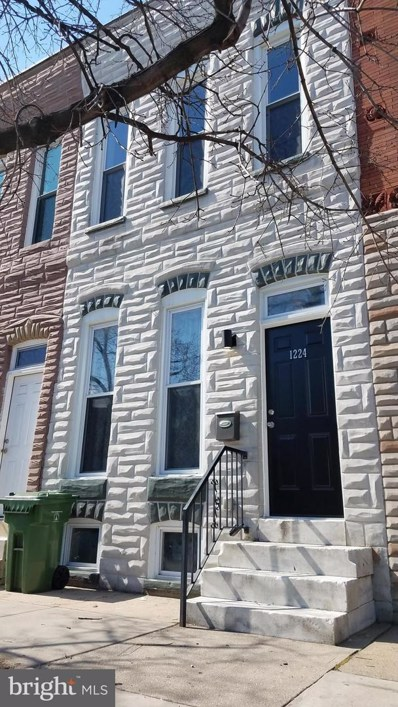 1224 James Street, Baltimore, MD 21223 - #: MDBA440752