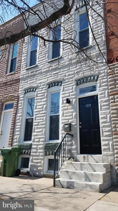 1224 James Street, Baltimore, MD 21223 - #: MDBA440752