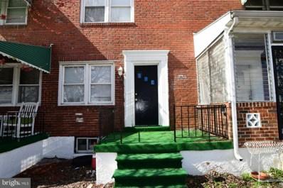 2534 Terra Firma Road, Baltimore, MD 21225 - #: MDBA440902
