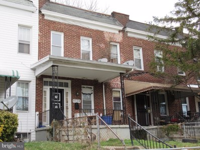 4118 Norfolk Avenue, Baltimore, MD 21216 - #: MDBA441102