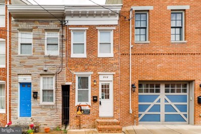 512 Chapel Street, Baltimore, MD 21231 - #: MDBA441260