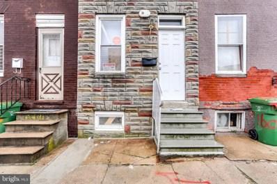 1607 Cole Street, Baltimore, MD 21223 - #: MDBA441320