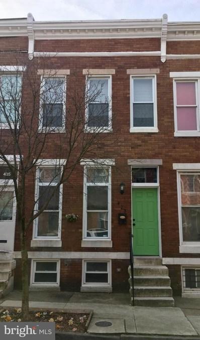 423 E Lorraine Avenue, Baltimore, MD 21218 - #: MDBA441380
