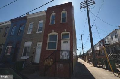 2501 Jefferson Street, Baltimore, MD 21205 - MLS#: MDBA441430