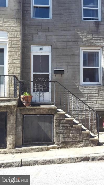 36 S Carlton Street, Baltimore, MD 21223 - #: MDBA441536