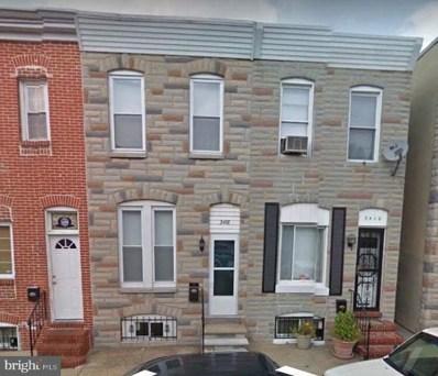 3408 Mount Pleasant Avenue, Baltimore, MD 21224 - MLS#: MDBA449058