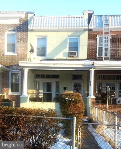 49 S Morley Street, Baltimore, MD 21229 - #: MDBA450340