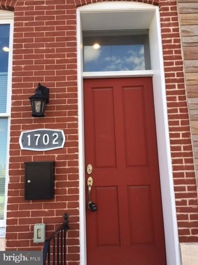 1702 N Broadway, Baltimore, MD 21213 - #: MDBA451968