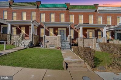 3116 Oakfield Avenue, Baltimore, MD 21216 - #: MDBA459922