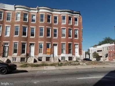 248 N Fulton Avenue, Baltimore, MD 21223 - #: MDBA461568