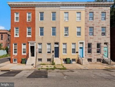 506 W Lafayette Avenue, Baltimore, MD 21217 - #: MDBA461574