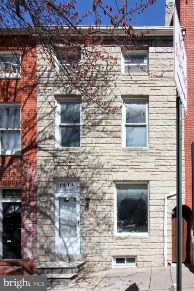 1914 E Pratt Street, Baltimore, MD 21231 - #: MDBA461630