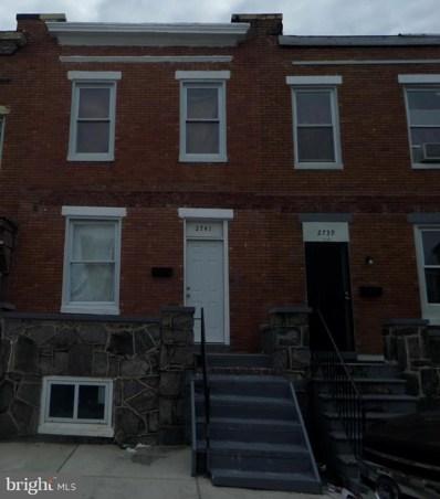 2741 E Chase Street, Baltimore, MD 21213 - #: MDBA461710