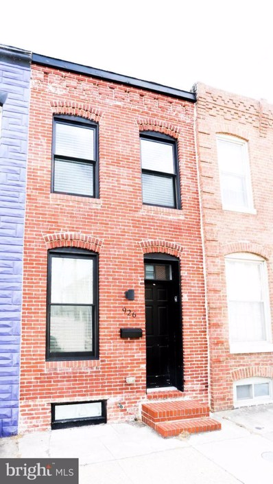 926 S Curley Street, Baltimore, MD 21224 - #: MDBA462044